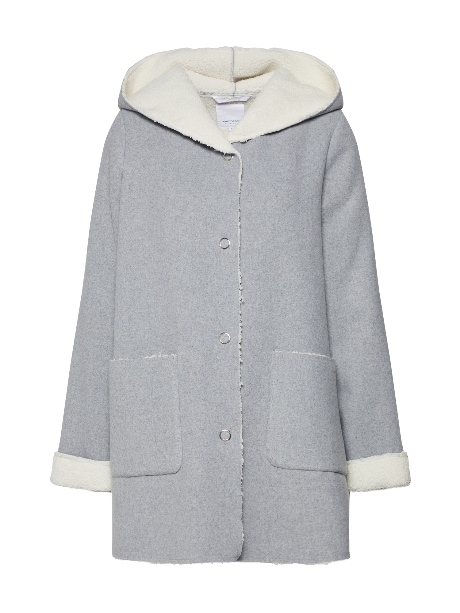 Přechodný kabát šedá GREYSTONE