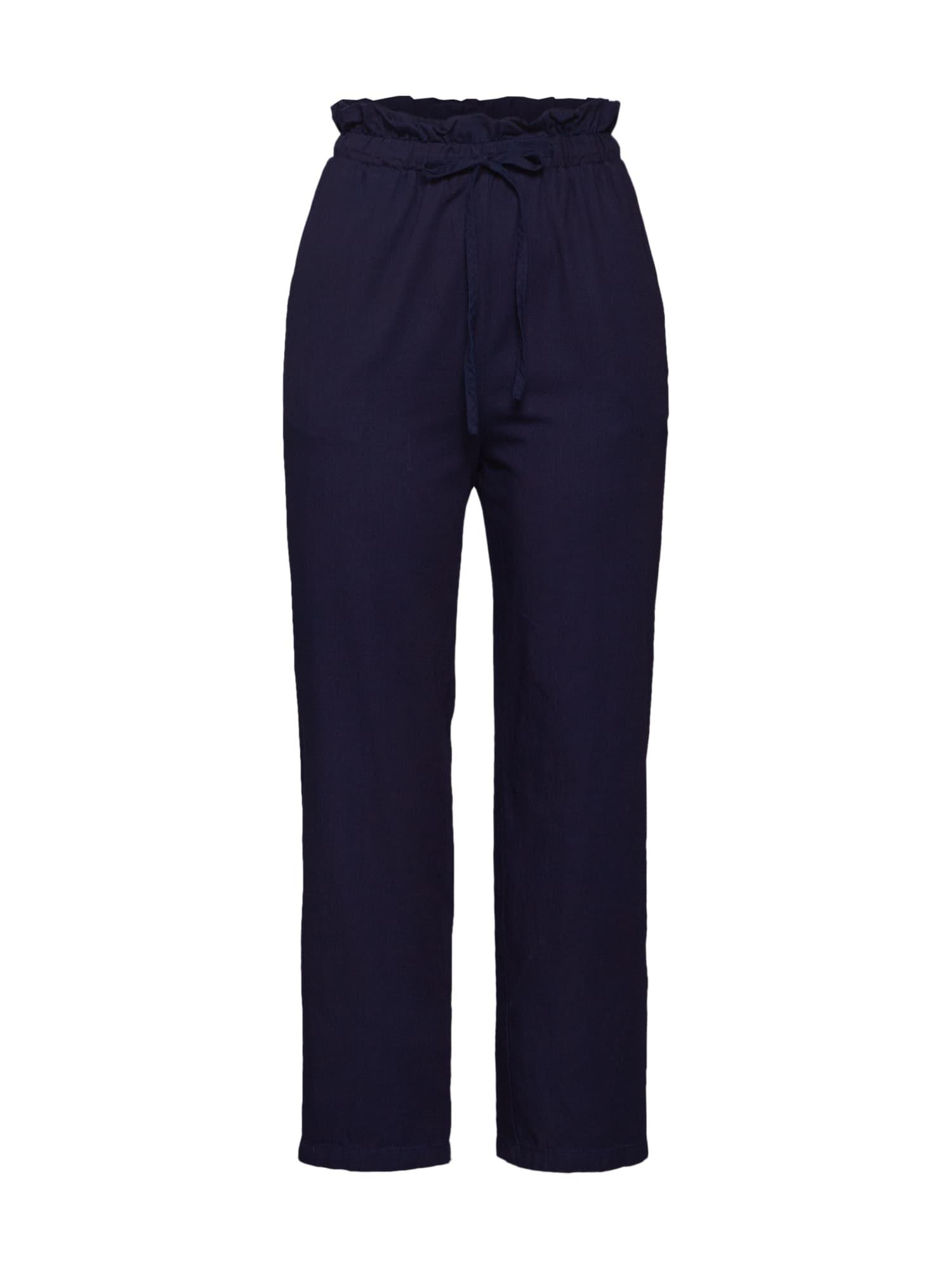 Kalhoty tmavě modrá Fashion Union