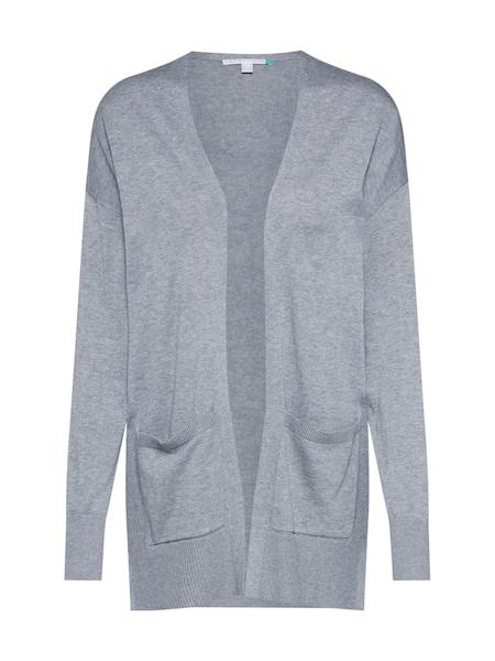 Jacken für Frauen - ESPRIT Strickjacke rauchgrau  - Onlineshop ABOUT YOU