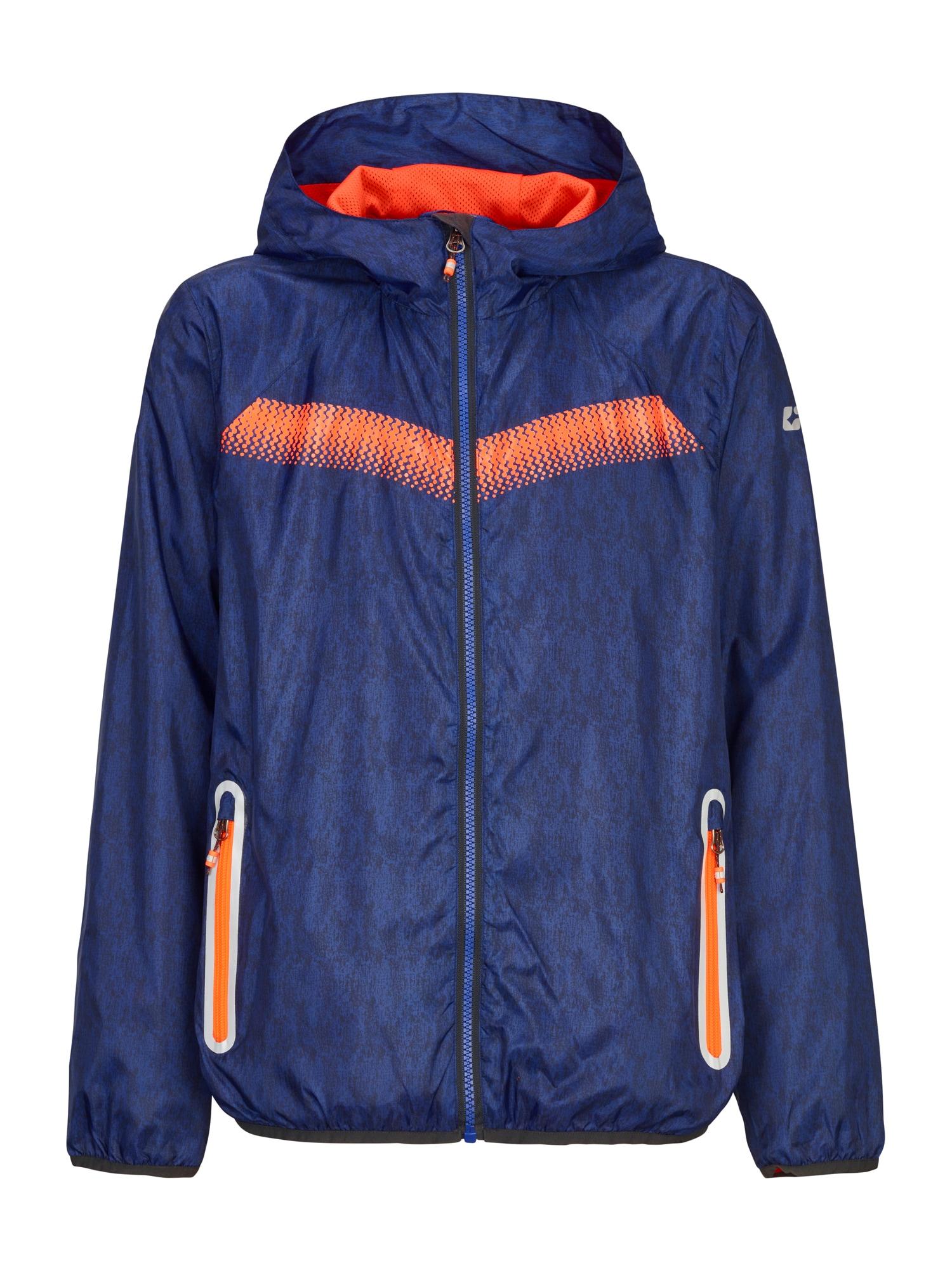 KILLTEC Prechodná bunda  oranžová / zafírová