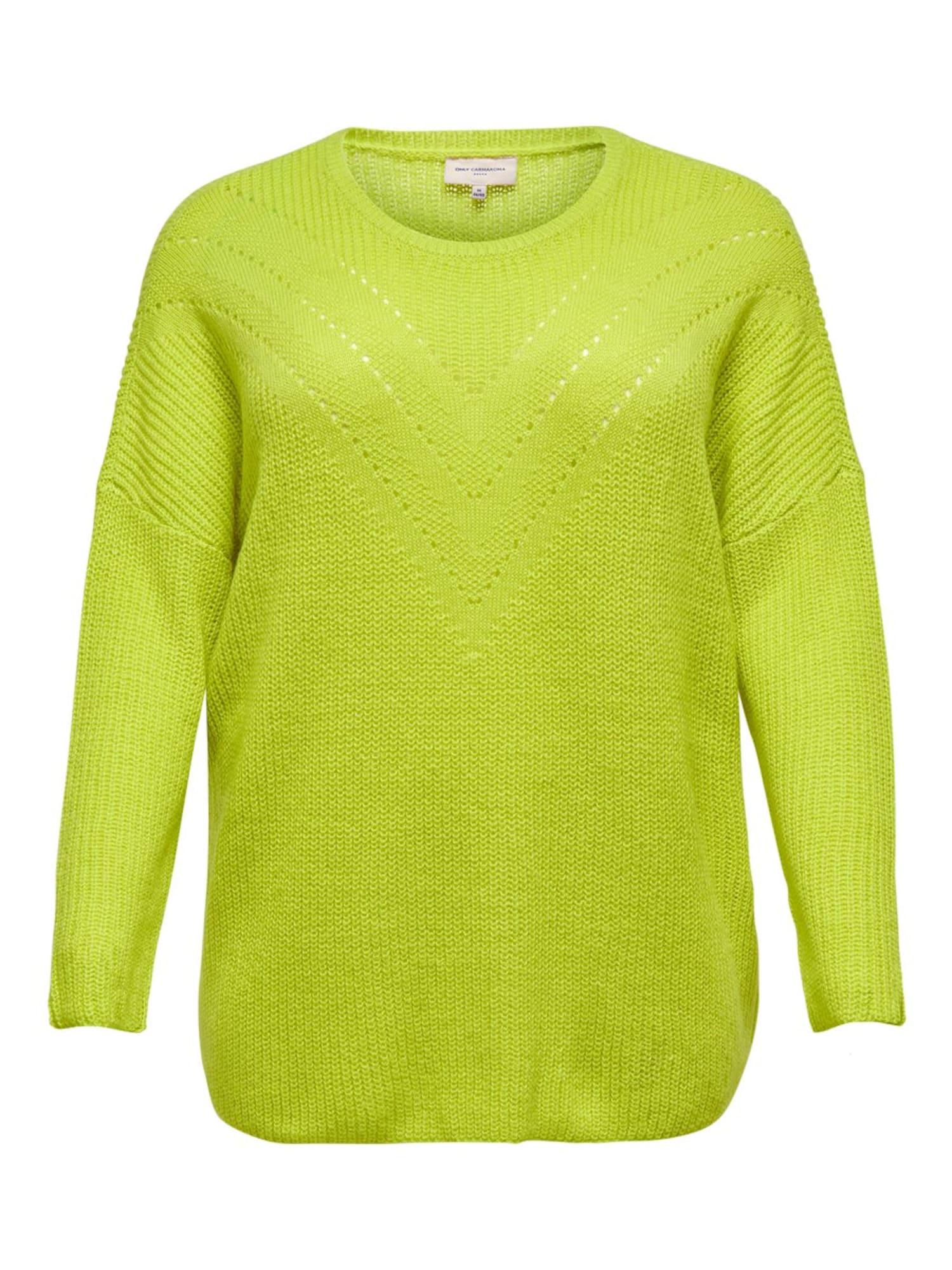 ONLY Carmakoma Megztinis šviesiai pilka