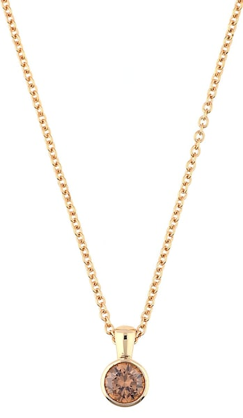 Ketten für Frauen - JOOP! Halskette Meryl mit rundem Anhänger JPNL90701C420 rosegold  - Onlineshop ABOUT YOU