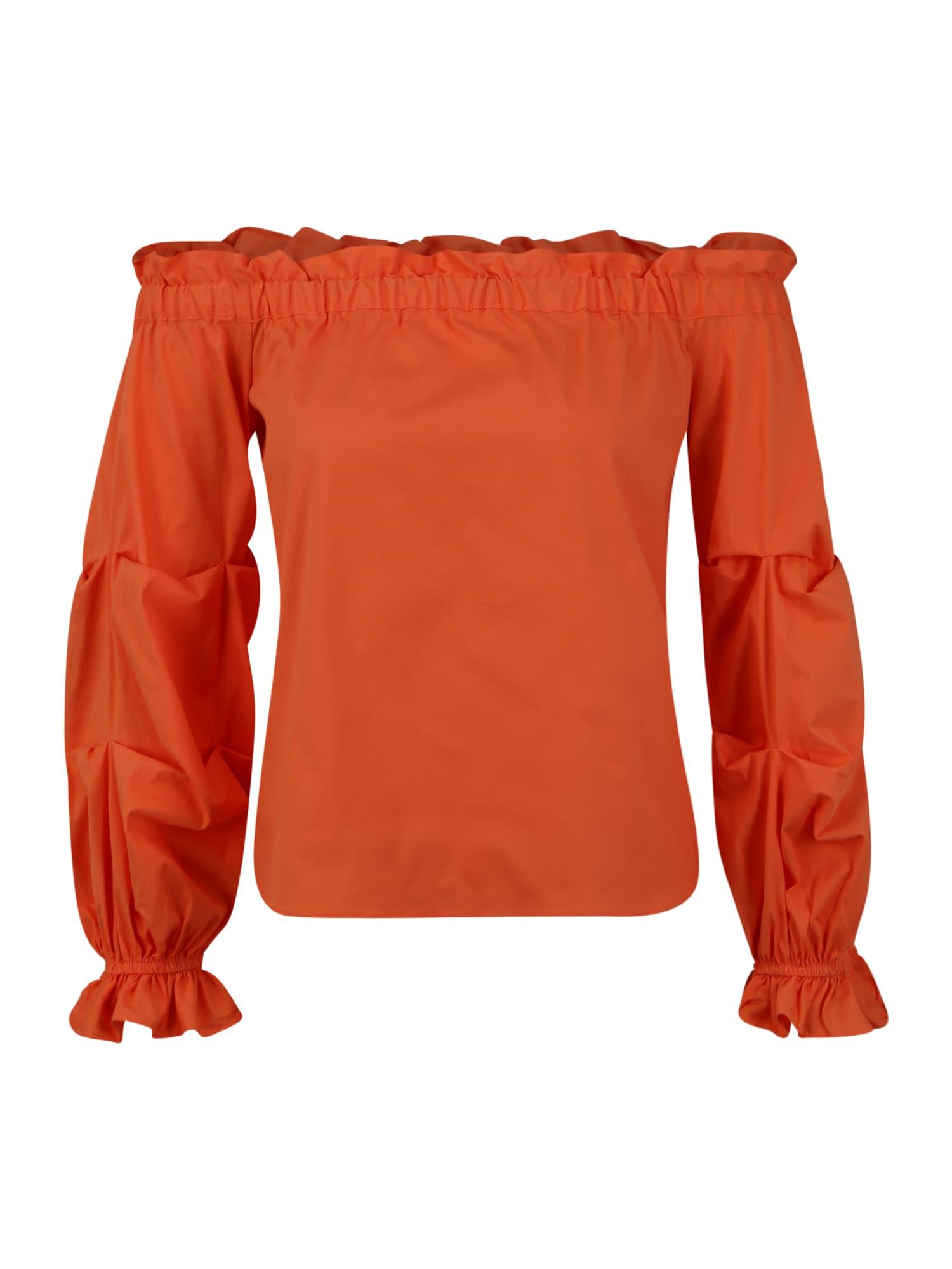 River Island Petite Marškinėliai tamsiai oranžinė