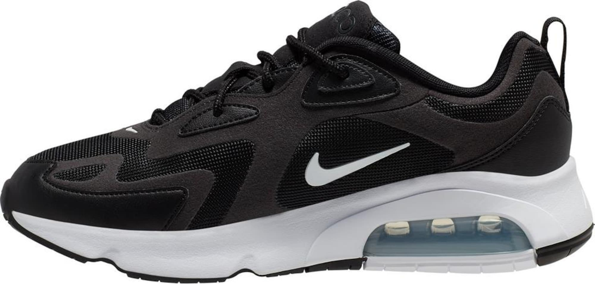 Nike Sportswear Tenisky 'Air Max 200'  černá / bílá