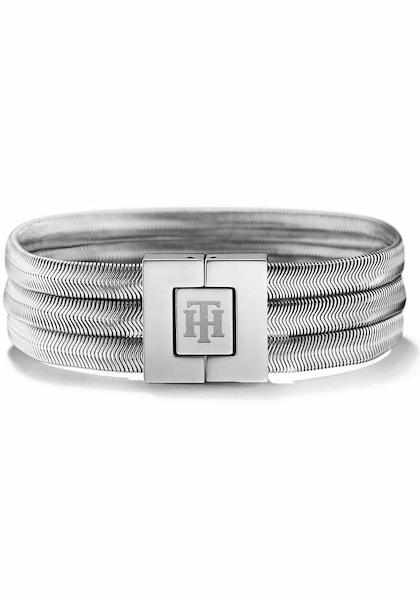 Armbaender für Frauen - TOMMY HILFIGER Armband 'Classic Signature, 2700975' silber  - Onlineshop ABOUT YOU