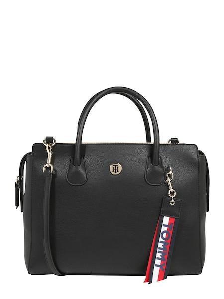 Handtaschen für Frauen - TOMMY HILFIGER Handtasche 'CHARMING TOMMY' schwarz  - Onlineshop ABOUT YOU