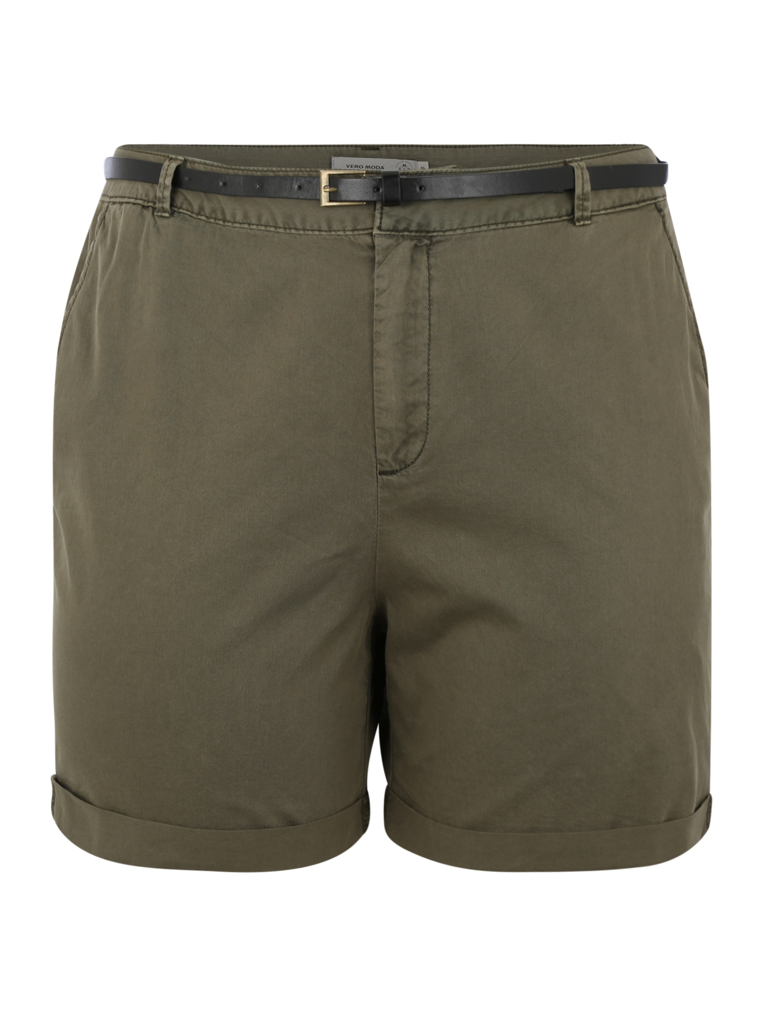 Chino kalhoty Flash khaki Vero Moda Curve