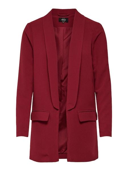Jacken für Frauen - ONLY Blazer rot  - Onlineshop ABOUT YOU