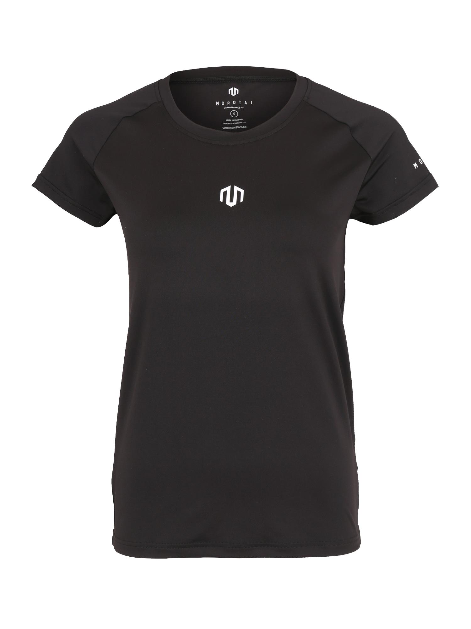Funkční tričko NAKA Performance Hole Back černá bílá MOROTAI