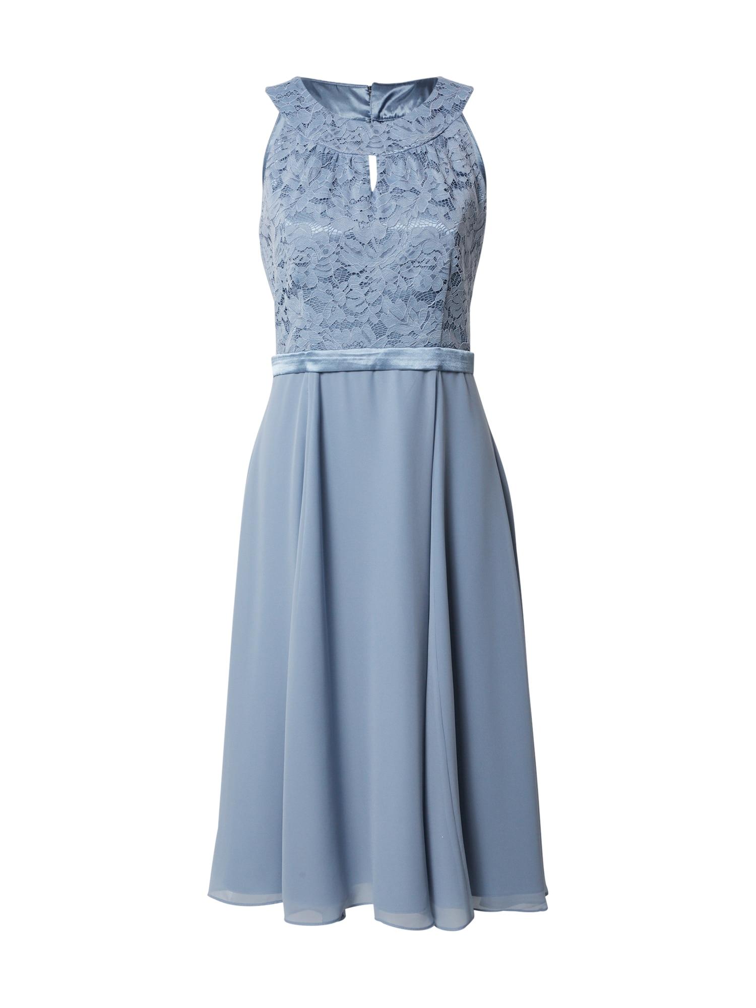 Vera Mont Suknelė mėlyna dūmų spalva / šviesiai mėlyna