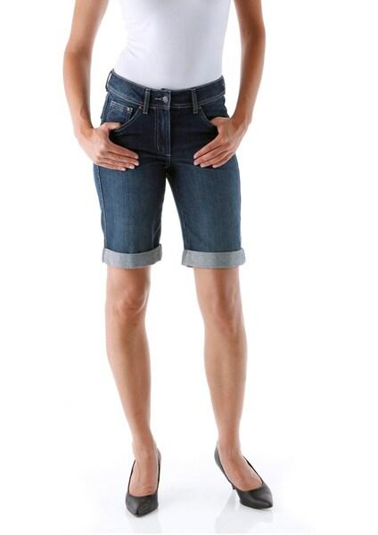 Hosen für Frauen - CHEER Jeansbermudas blau  - Onlineshop ABOUT YOU