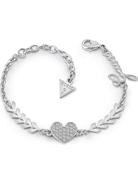 Armbaender für Frauen - GUESS Armband 'Cupid JUBB85085JW' silber  - Onlineshop ABOUT YOU
