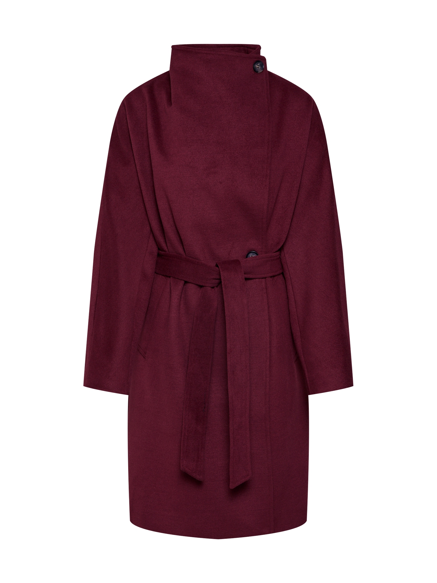 ABOUT YOU Rudeninis-žieminis paltas 'Charis' burgundiško vyno spalva