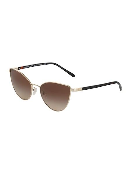 Sonnenbrillen für Frauen - Michael Kors Sonnenbrille 'ARROWHEAD' gold  - Onlineshop ABOUT YOU