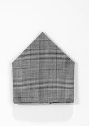 S.Oliver,S.Oliver BLACK LABEL,s.Oliver Herren Einstecktuch mit Glencheck-Muster grau | 04059111881486