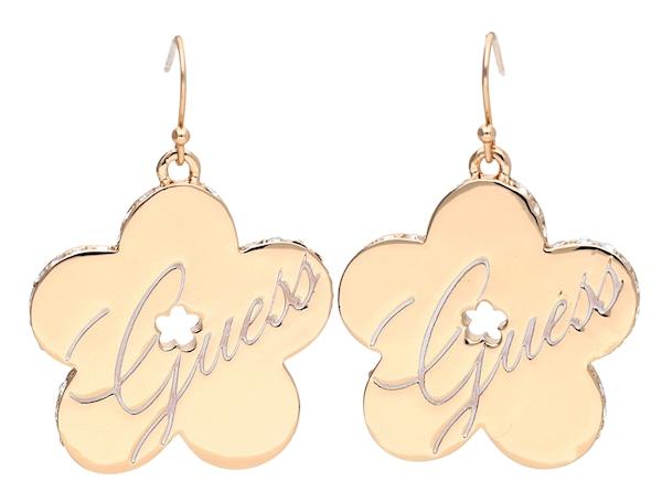 Ohrringe für Frauen - GUESS Ohrhänger 'UBE11112' rosegold  - Onlineshop ABOUT YOU