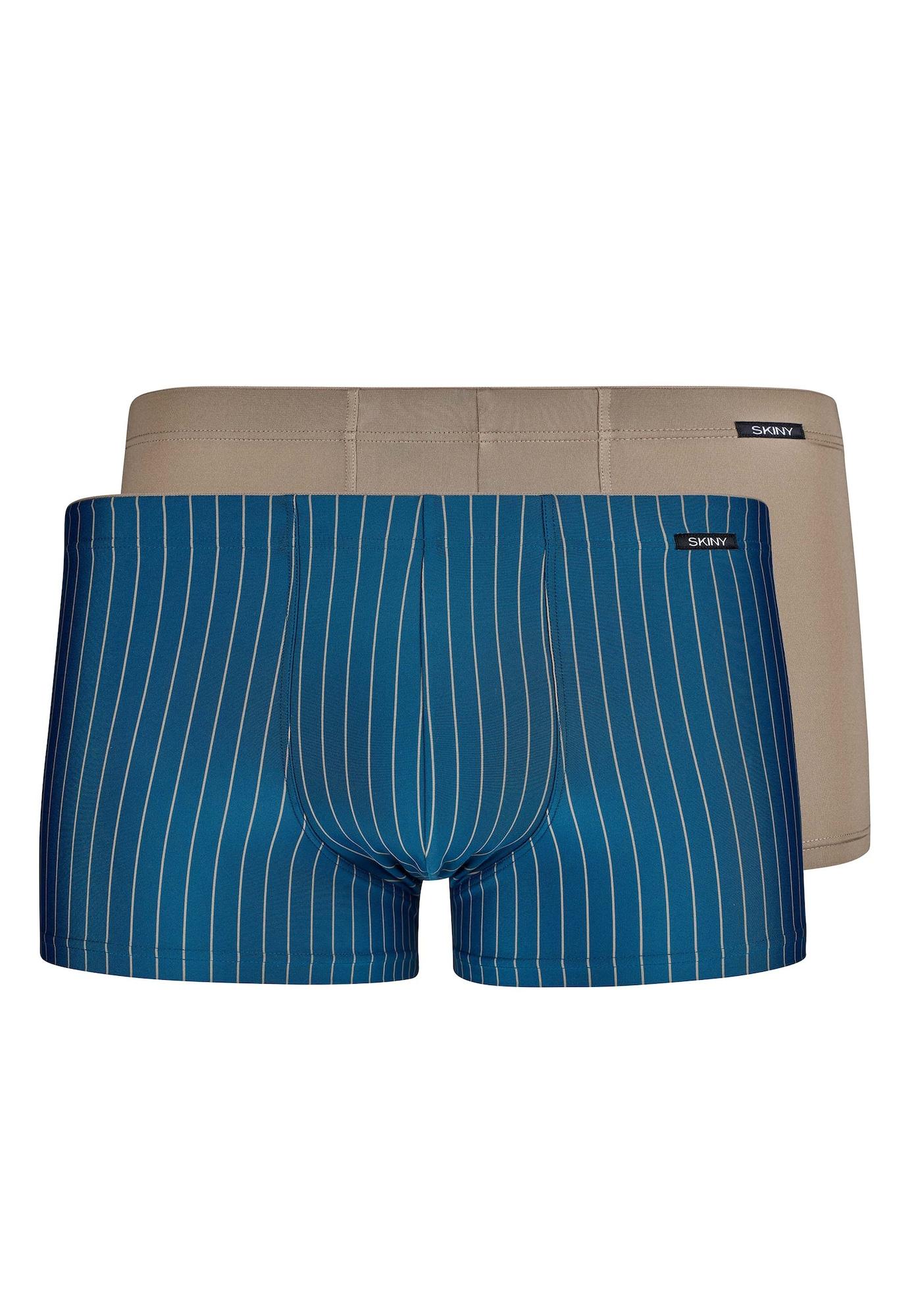 Skiny Boxerky  modré / béžová