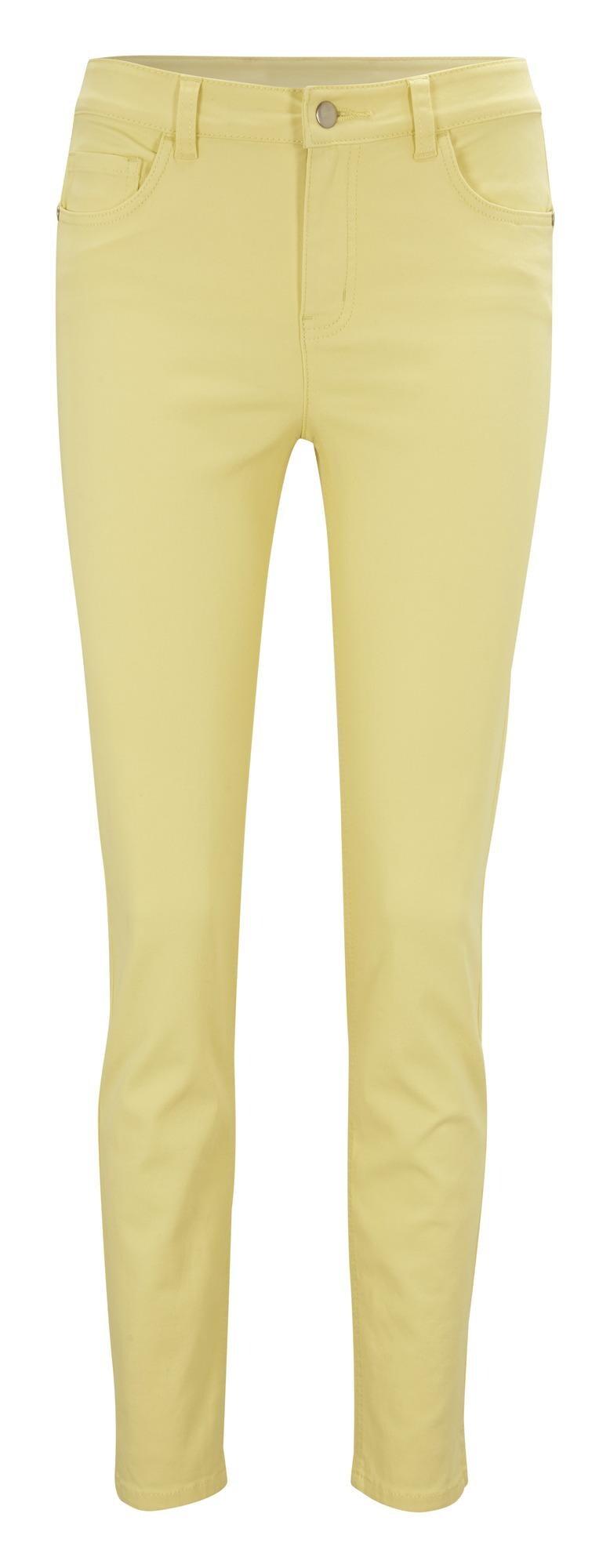 ARIZONA Džinsai geltona