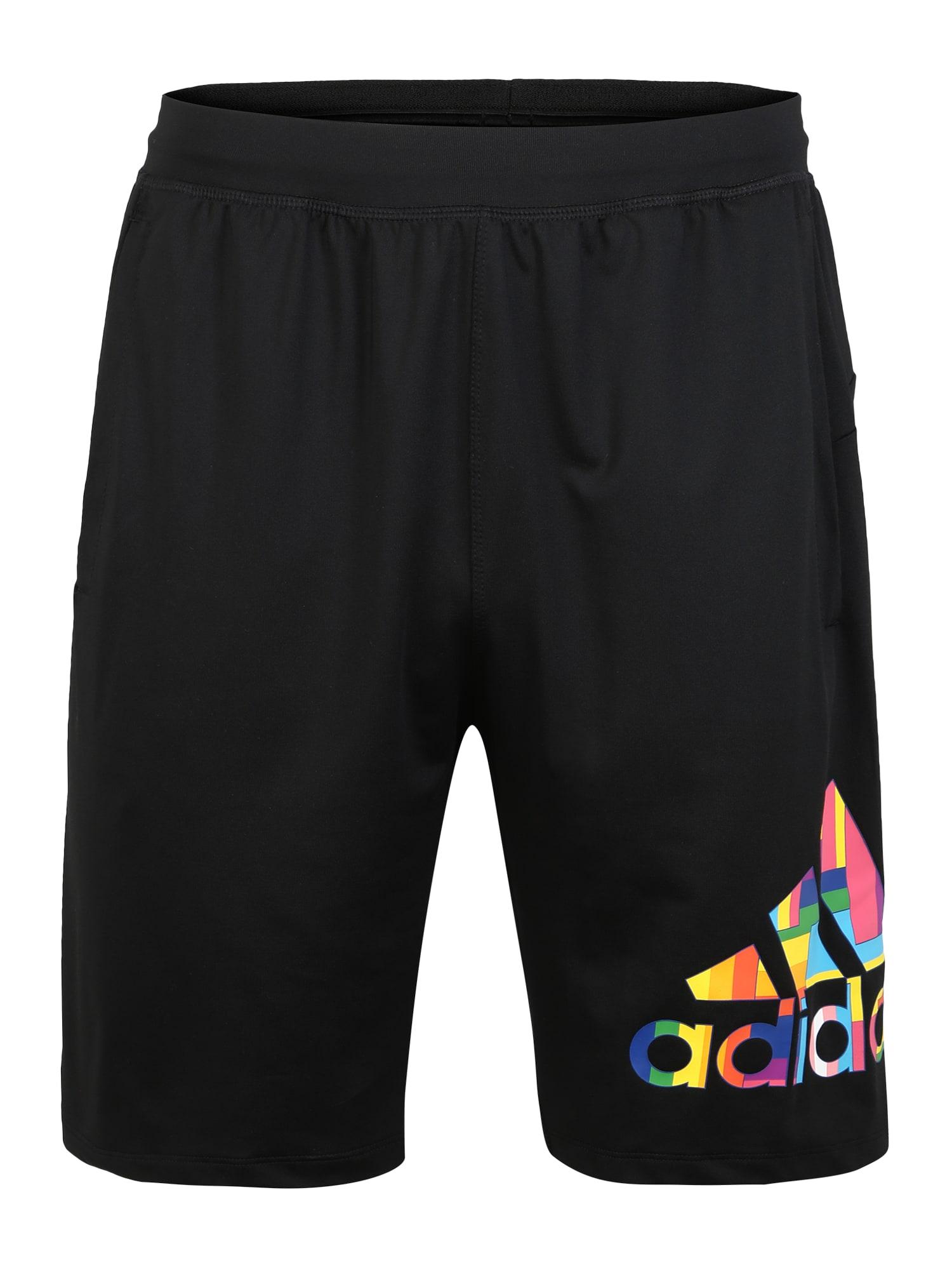 ADIDAS PERFORMANCE Sportinės kelnės 'PRIDE 4KRFT' juoda