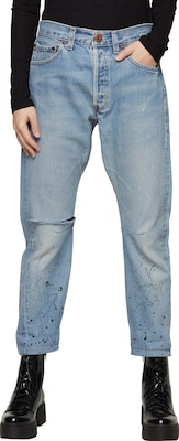One Teaspoon 'Vintage Saints Middies' Tapered Denim