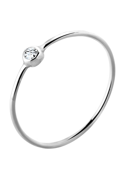Ringe für Frauen - ELLI Ring 'Solitär' silber  - Onlineshop ABOUT YOU