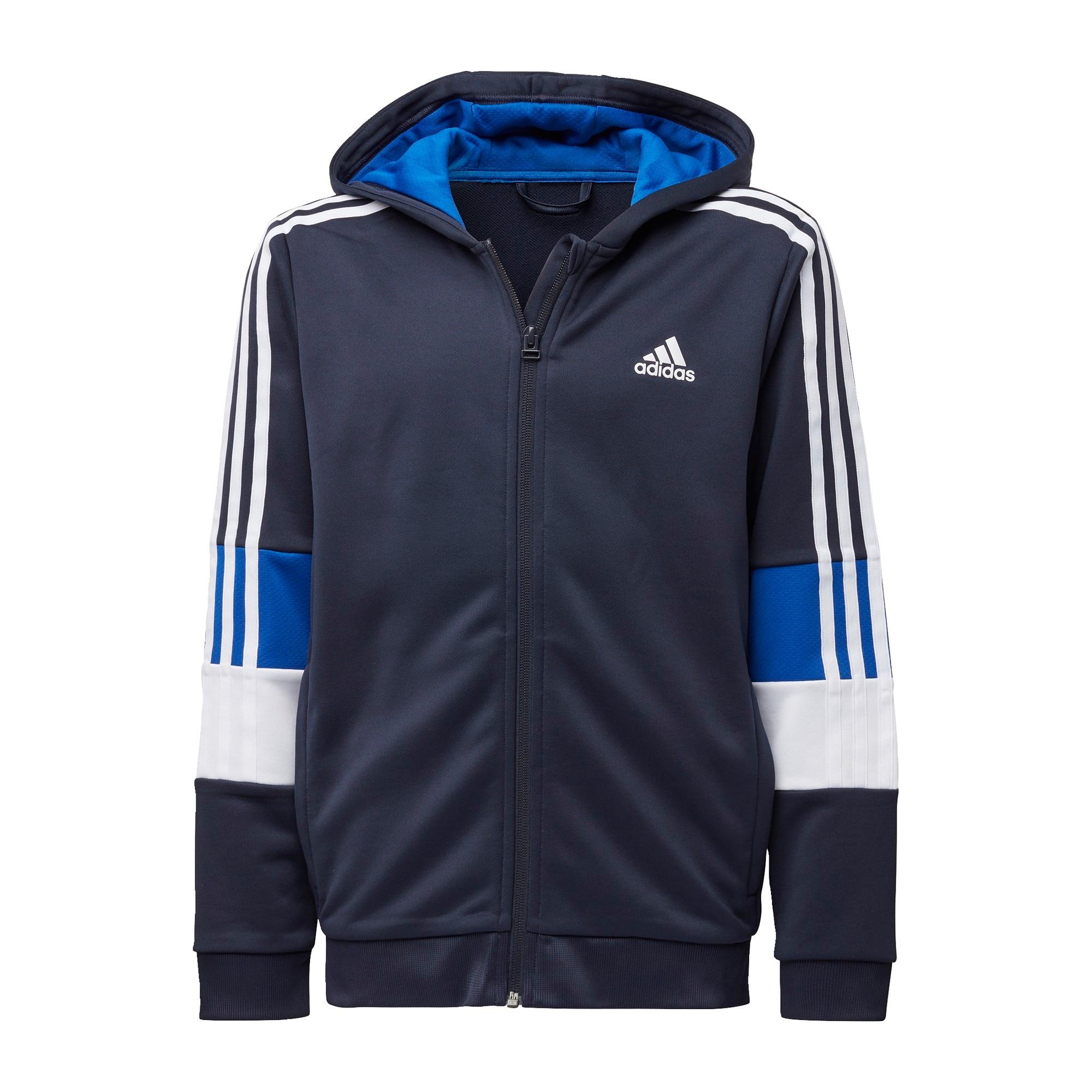 """ADIDAS PERFORMANCE Sportinis džemperis balta / tamsiai mėlyna jūros spalva / sodri mėlyna (""""karališka"""")"""