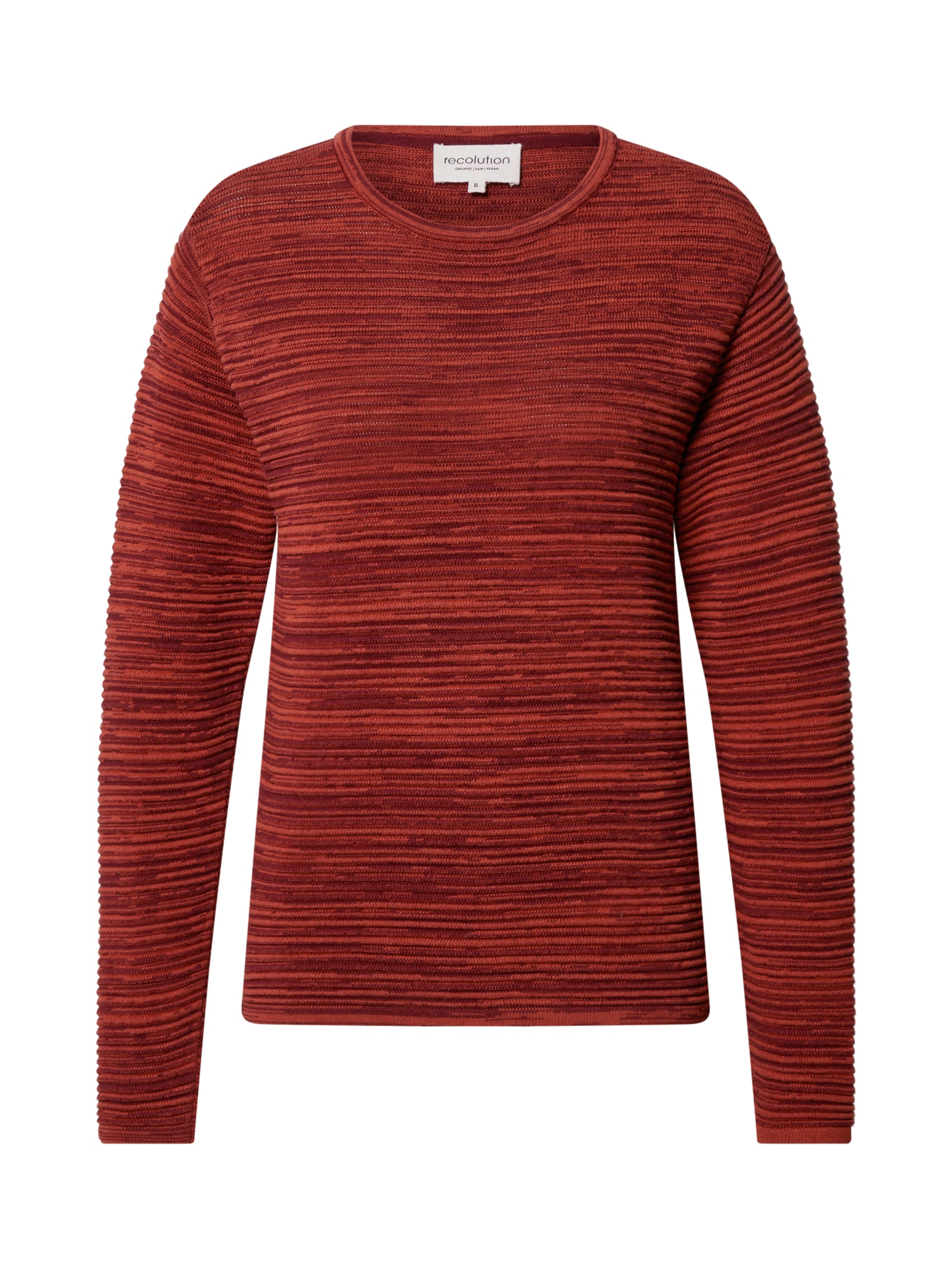recolution Megztinis raudona