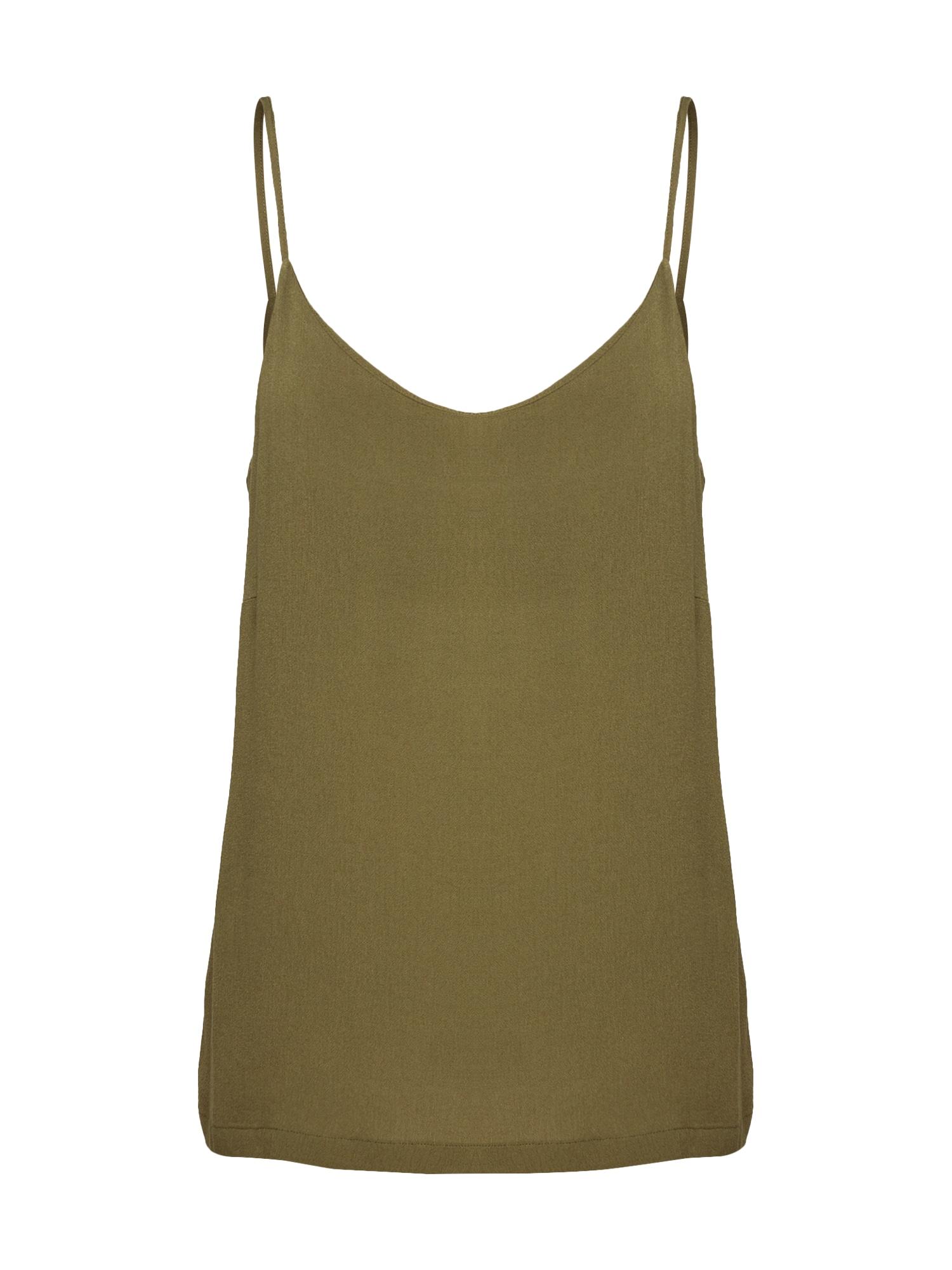 basic apparel Palaidinė be rankovių 'Felicia' žalia