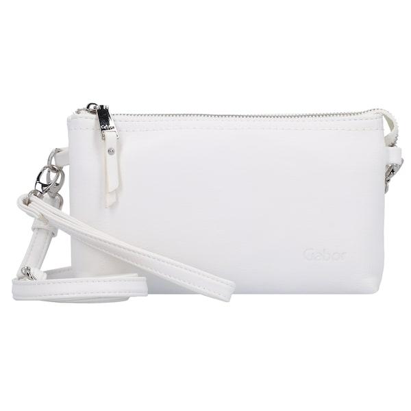 Clutches für Frauen - GABOR Emmy Clutch Tasche 21 cm weiß  - Onlineshop ABOUT YOU