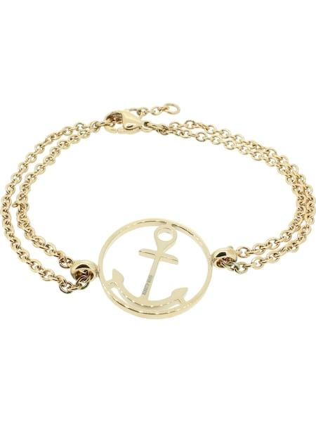 Armbaender - Armband 'Anker' › Hafen Klunker › gold  - Onlineshop ABOUT YOU