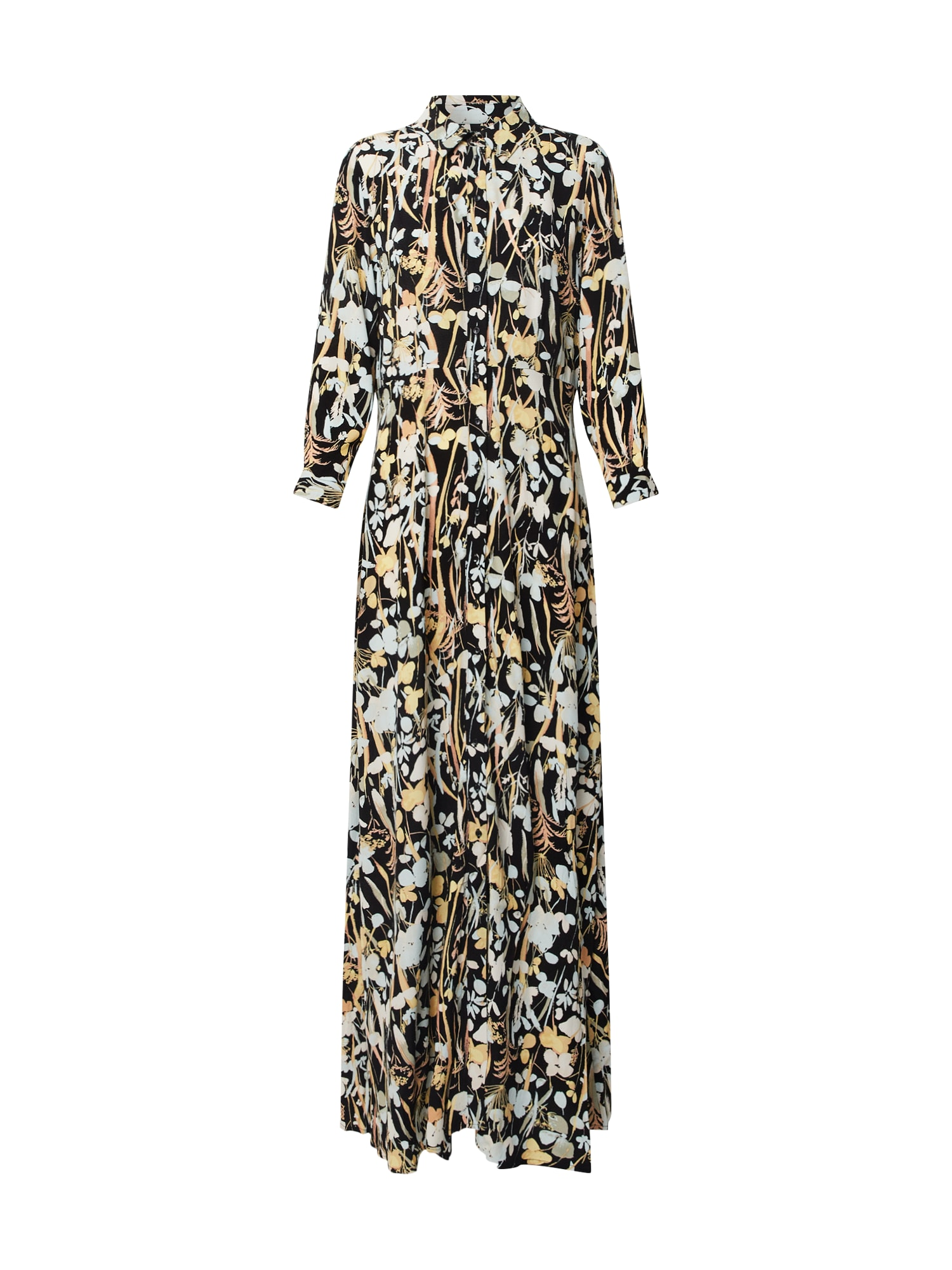 Y.A.S Košeľové šaty 'MEADOW SAVANNA'  zmiešané farby / čierna