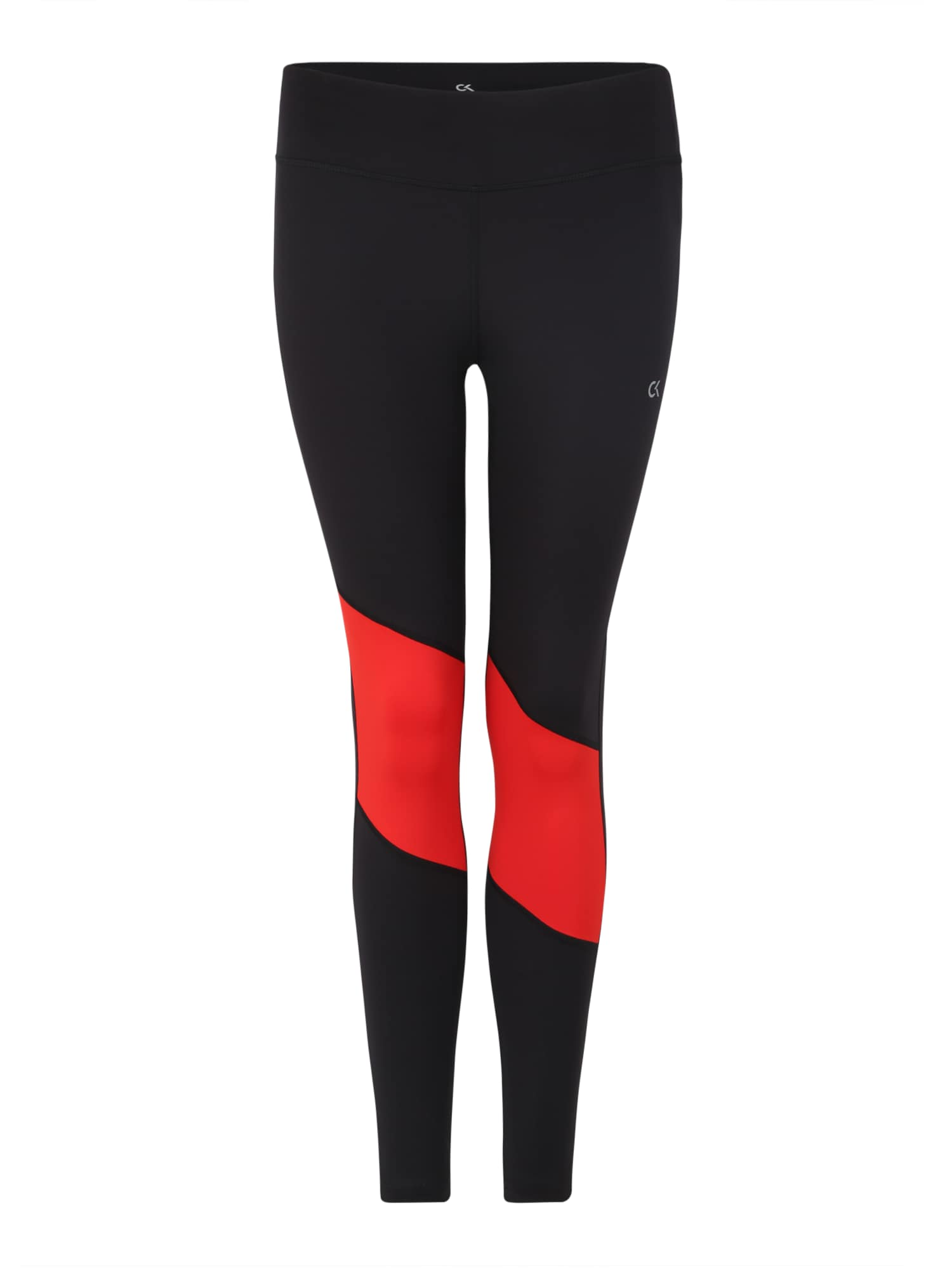Sportovní kalhoty červená černá Calvin Klein Performance
