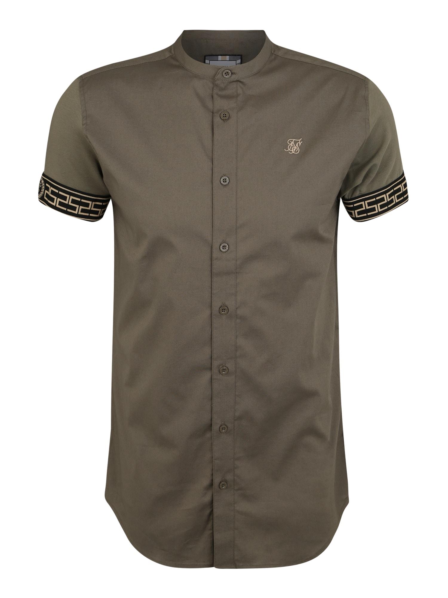 Košile khaki SikSilk