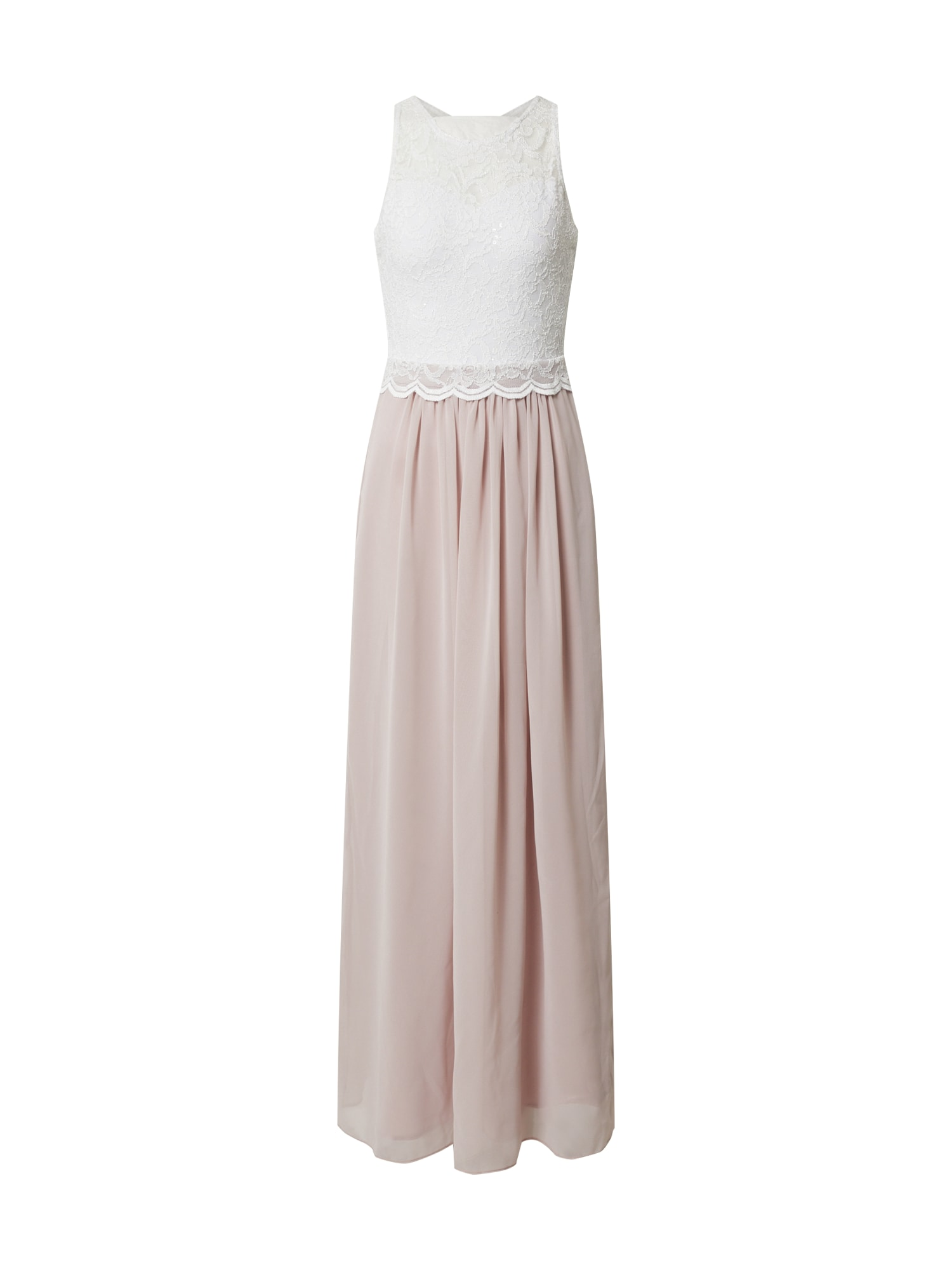 SWING Suknelė rožinė / kremo