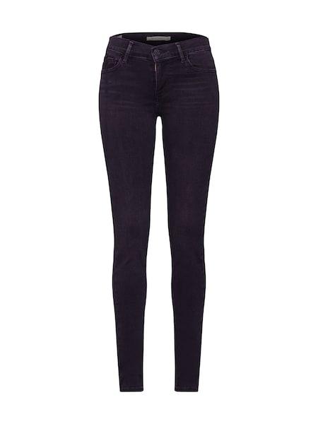 Hosen - Jeans '710 INNOVATION SUPER SKINNY' › Levi's › black denim  - Onlineshop ABOUT YOU