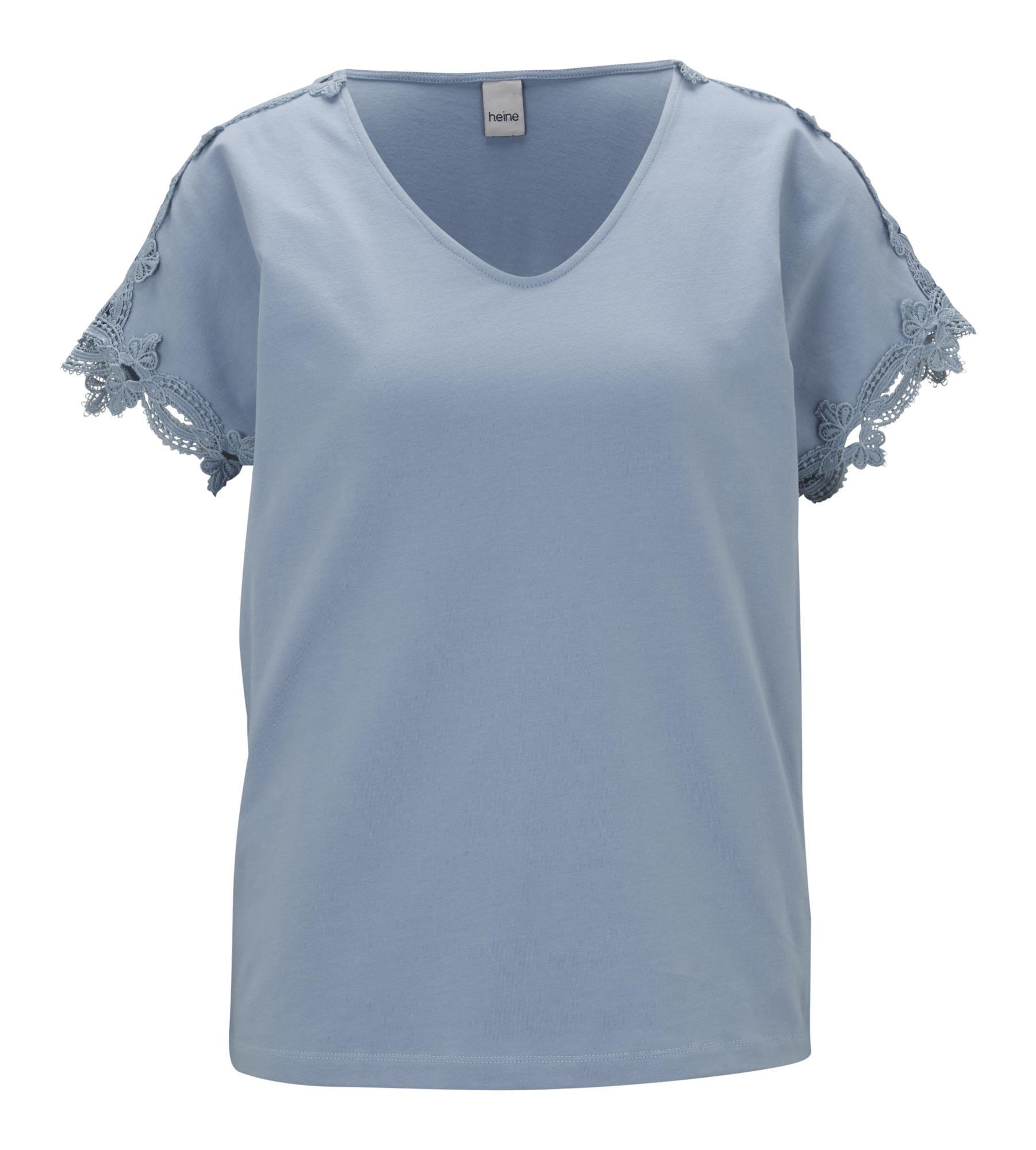 heine Tričko  chladná modrá