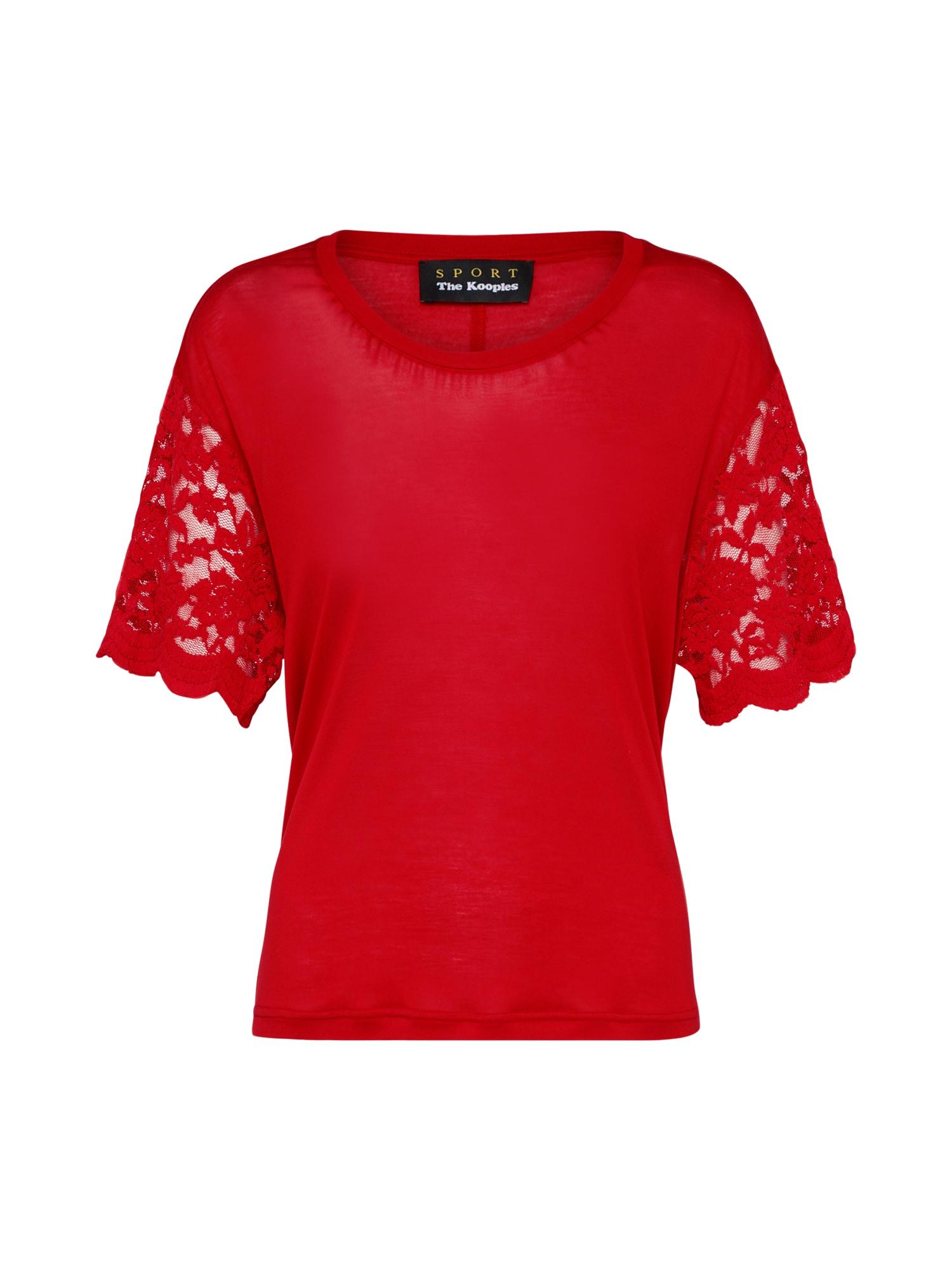 Tričko červená THE KOOPLES SPORT