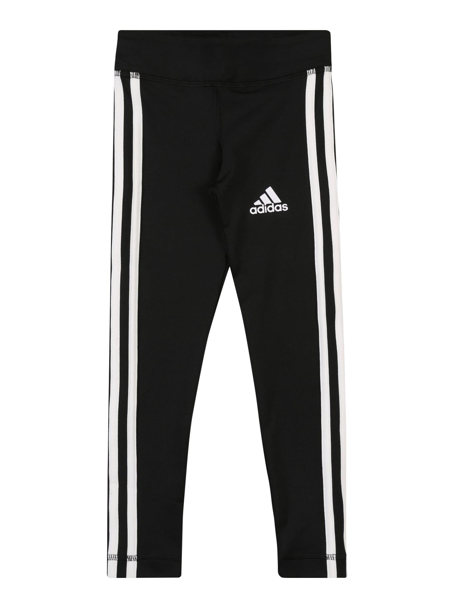 ADIDAS PERFORMANCE Sportinės kelnės 'YG TR EQ 3S L T' juoda