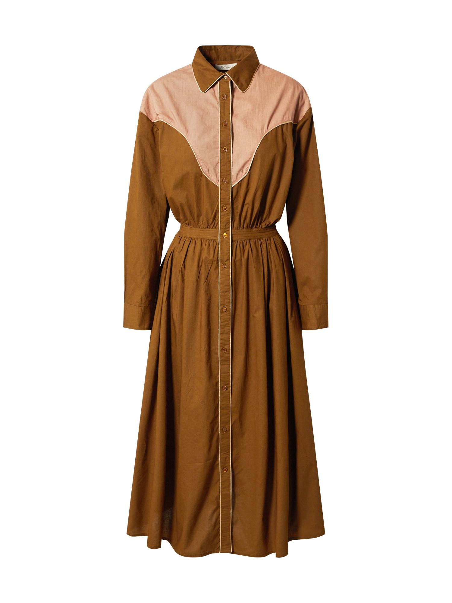 Mes Demoiselles Palaidinės tipo suknelė ruda / rožių spalva