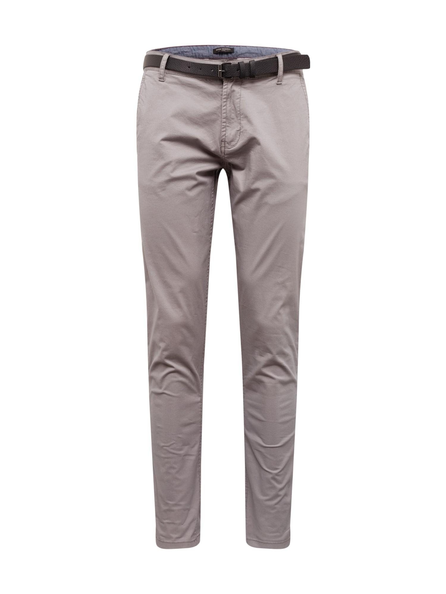 """SHINE ORIGINAL """"Chino"""" stiliaus kelnės rausvai pilka"""