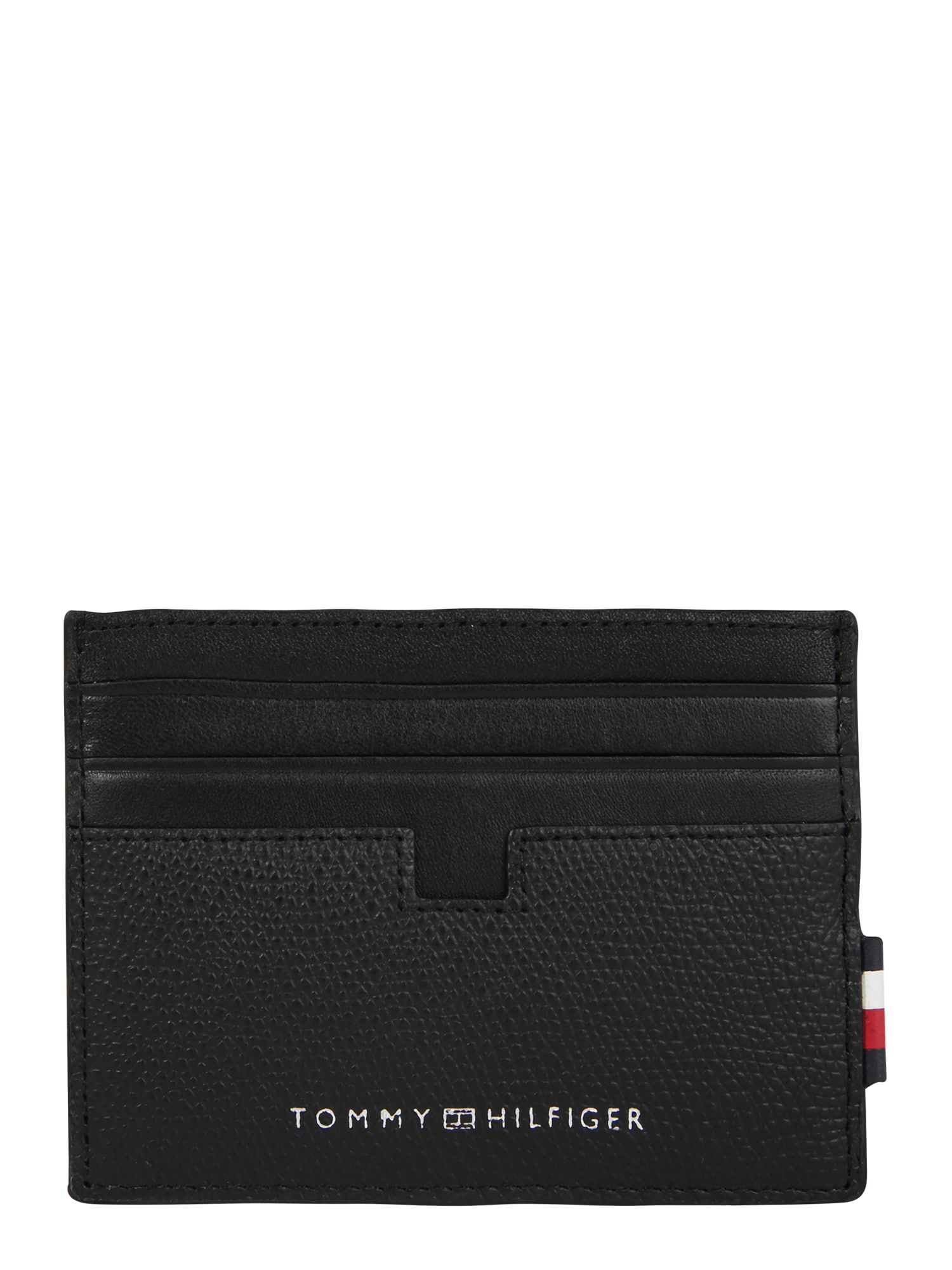 TOMMY HILFIGER Piniginė 'BUSINESS CC HOLDER' juoda
