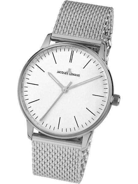 Uhren für Frauen - Jacques Lemans Uhr 'Retro Classic' silber  - Onlineshop ABOUT YOU