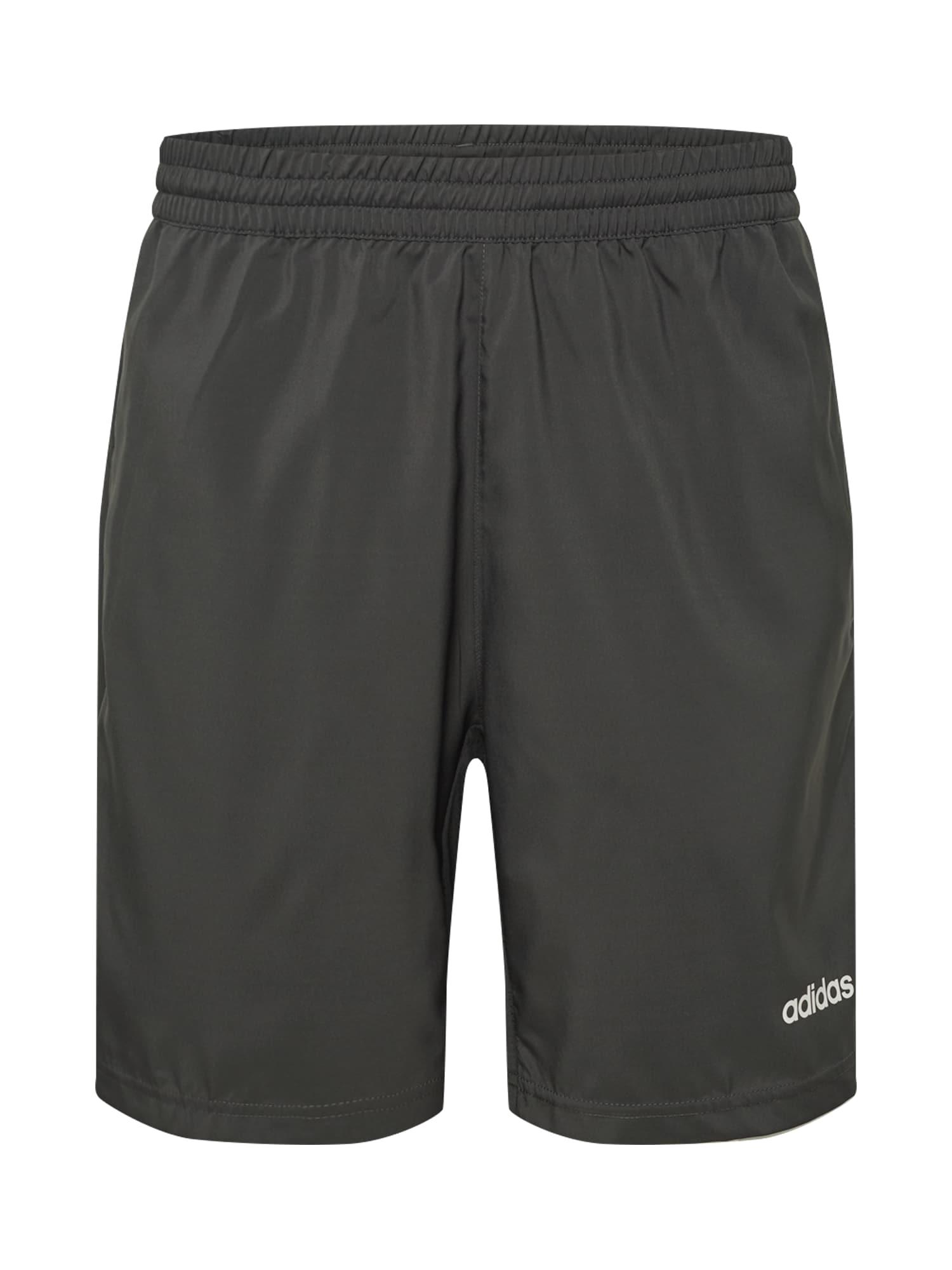 ADIDAS PERFORMANCE Športové nohavice 'D2M Cool'  sivá