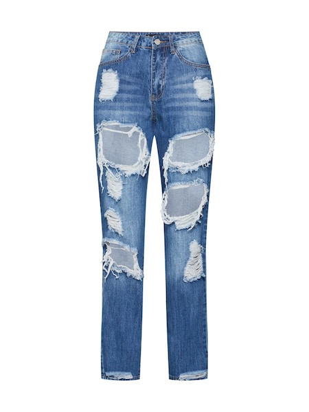 Hosen für Frauen - Missguided Jeans 'RIOT' blau  - Onlineshop ABOUT YOU