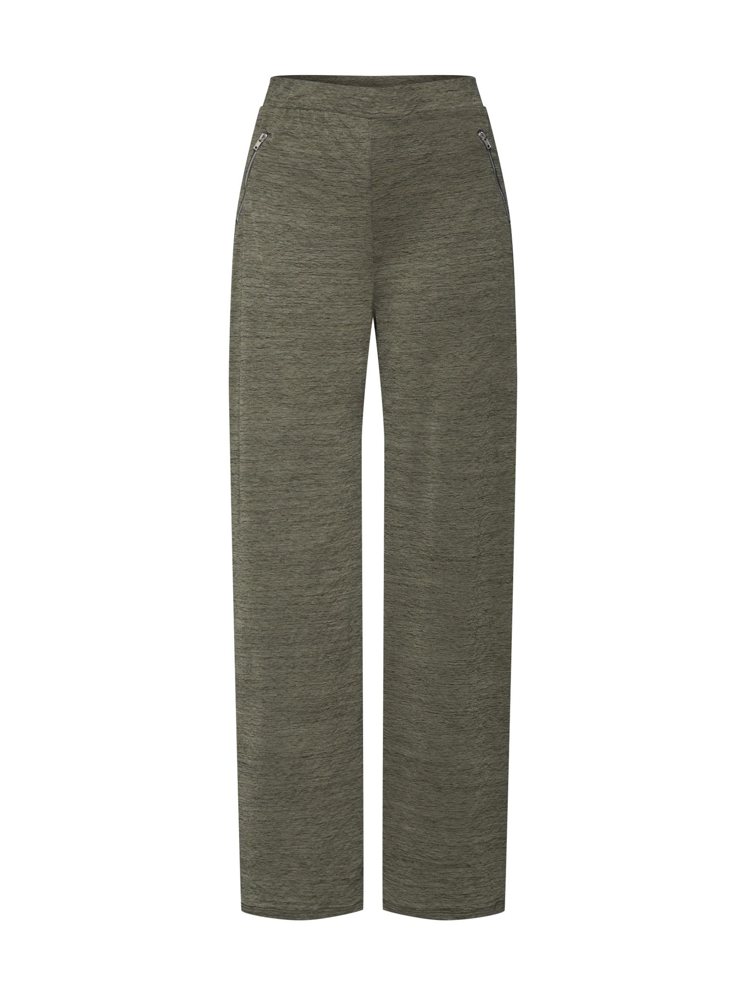 ABOUT YOU Kelnės 'Maxie Trousers' rusvai žalia