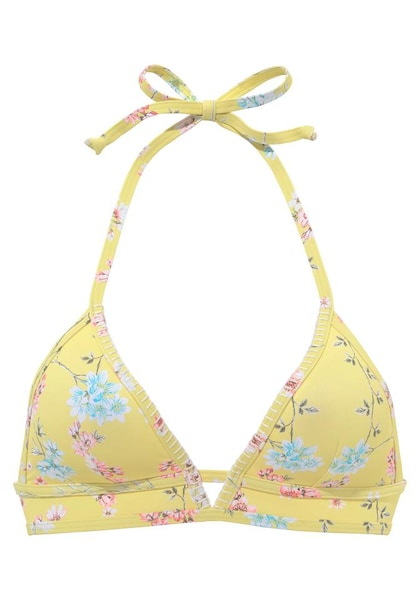 Bademode - Bikini Top 'Ditsy' › Sunseeker › gelb mischfarben  - Onlineshop ABOUT YOU