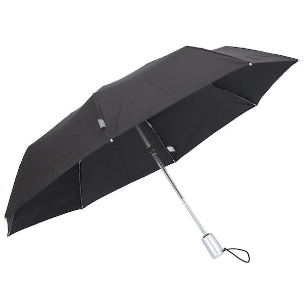 Regenschirme für Frauen - SAMSONITE Taschenschirm 'Alu Drop S' schwarz  - Onlineshop ABOUT YOU