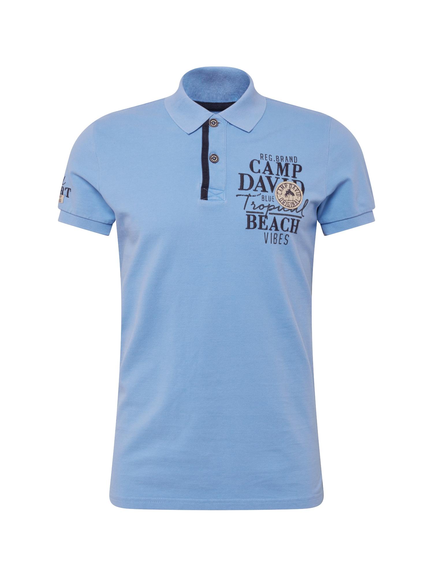 Tričko noční modrá světlemodrá CAMP DAVID