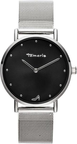 Uhren für Frauen - Uhr 'Anda, TW044' › tamaris › schwarz silber  - Onlineshop ABOUT YOU