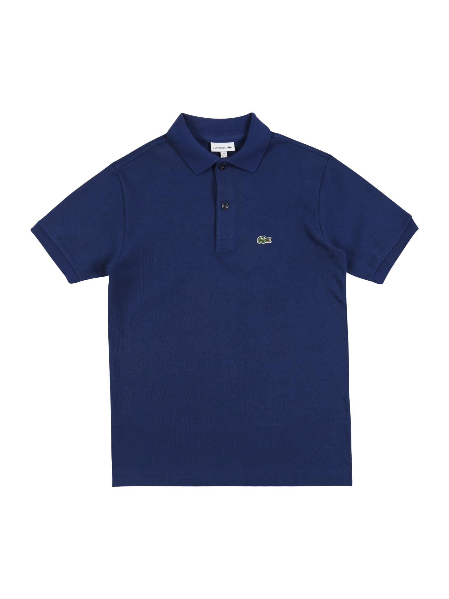 LACOSTE Marškinėliai tamsiai mėlyna